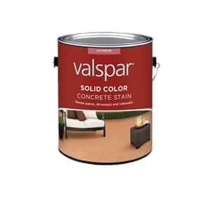 Valspar Solid Color Concrete Stain Review Concrete