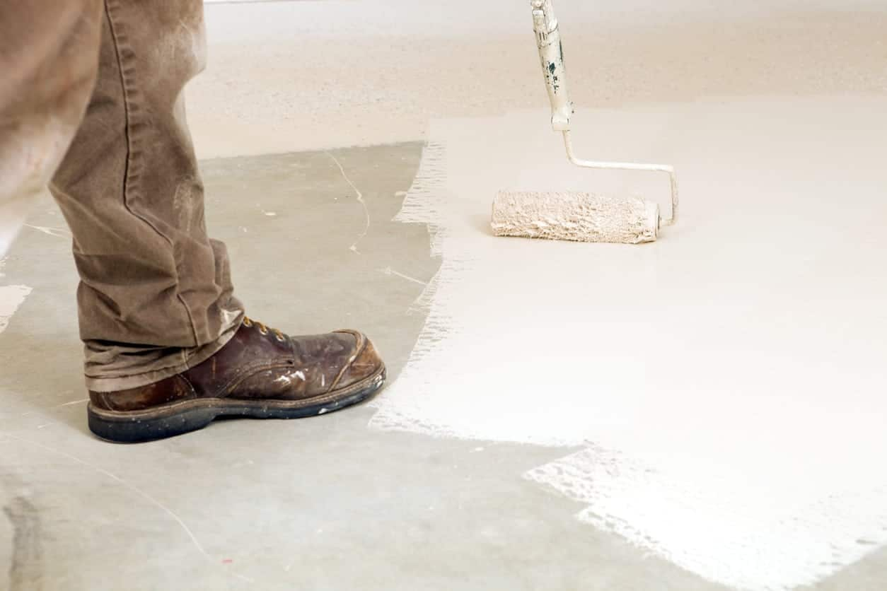 Epoxy Acrylic Painting : Differences between epoxy and acrylic sealers concrete